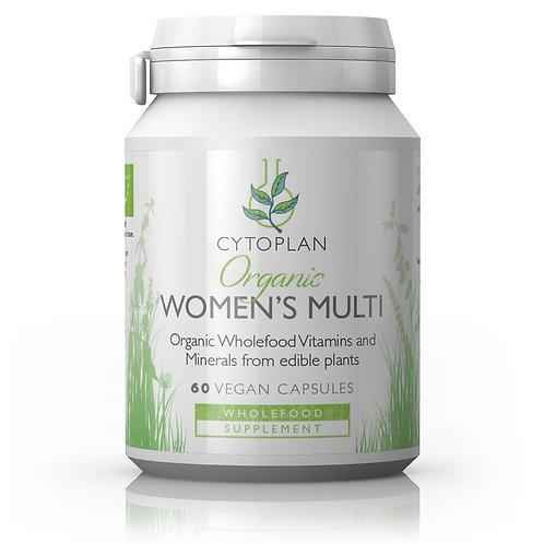 Cytoplan Organic Women's Multi Vitamin & Mineral Formula
