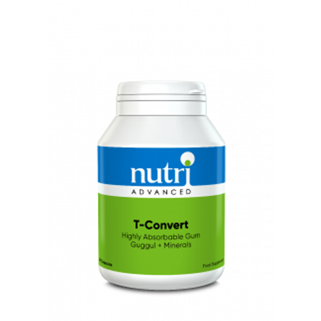 NutriAdvanced T-Convert 60 Capsules with Gum Guggul Resin