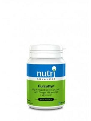 NutriAdvanced CucuDyn NovaSOL Curcumin 60 Capsules