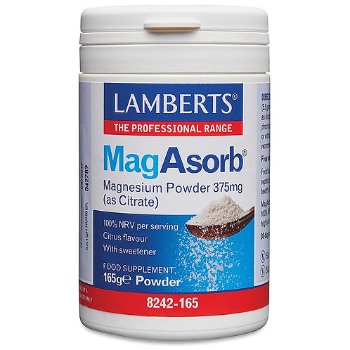 MagAsorb Magnesium Citrate Powder 165g