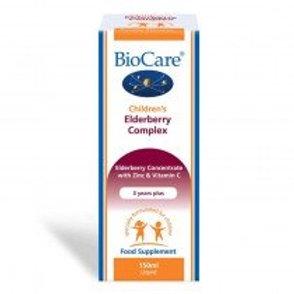 BioCare Elderberry Complex for Children 150ml liquid