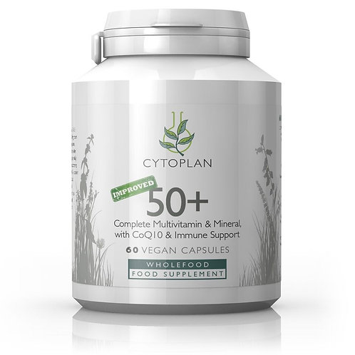 50+ Complete Multivitamin and Mineral Formula with CoQ10