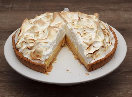 Lemon Meringue Pie #LCHF #Sugarfree #Keto