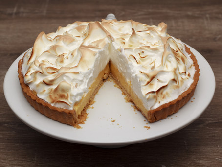 Lemon Meringue Pie #LCHF #Sugarfree #Keto