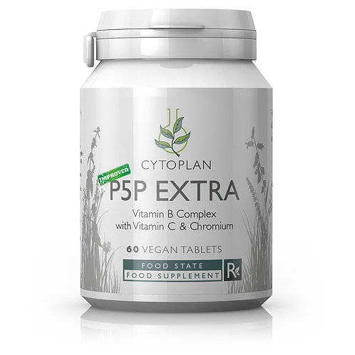 Cytoplan P5P Extra - Vitamin B Complex with Vitamin C & Chromium