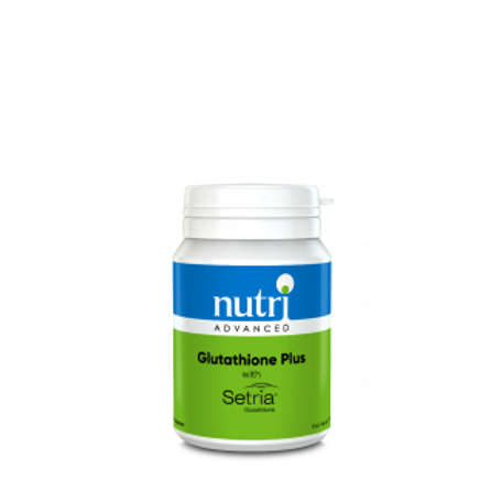 NutriAdvanced Glutathione Plus with Sertria - 60 Capsules