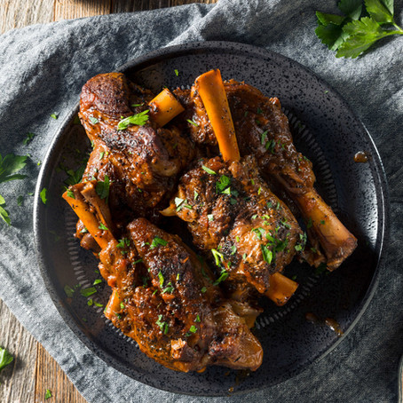Indian Spiced Lamb Shanks
