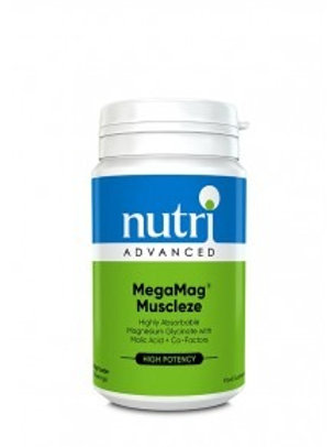 NutriAdvanced MegaMag Muscleze  Magnesium Glycinate 30 Servings
