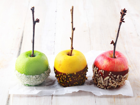 Toffee-Free Bonfire Night Apples