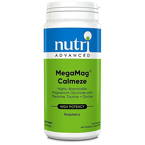 NutriAdvanced MegaMag Calmeze Raspberry 30 servings