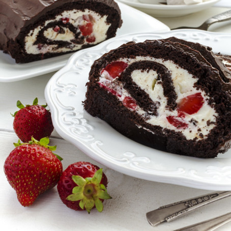 Low Carb, Sugar Free Christmas Yule Log