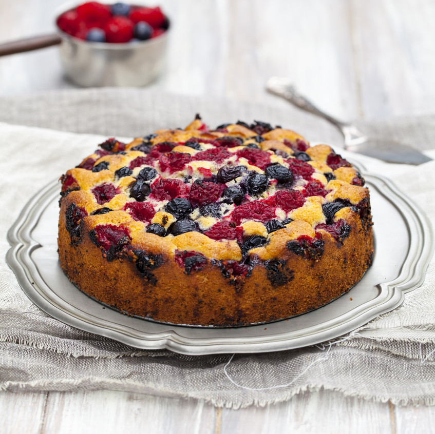 berry cake slow cooker