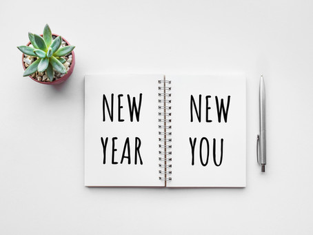 New Year's Resolutions for A New You.