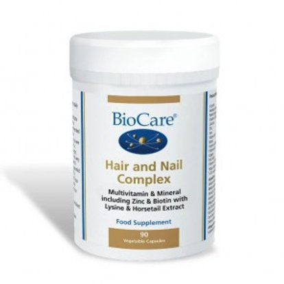 BioCare Hair and Nail Complex for 90 capsules