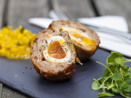 Low Carb, Grain Free Scotch Eggs