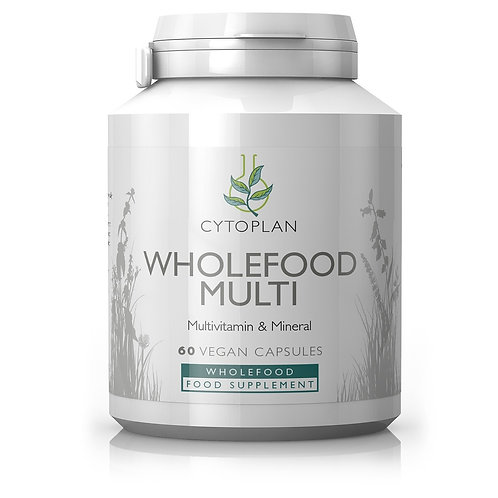 Cytoplan Wholefood Multi - 120 capsules