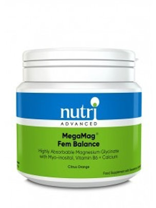 NutriAdvanced MegaMag Fem Balance - Orange flavour