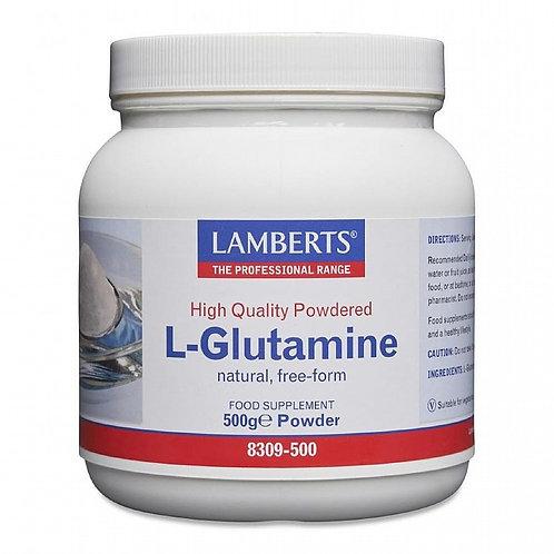 L'Glutamine - Lamberts 500g Powder