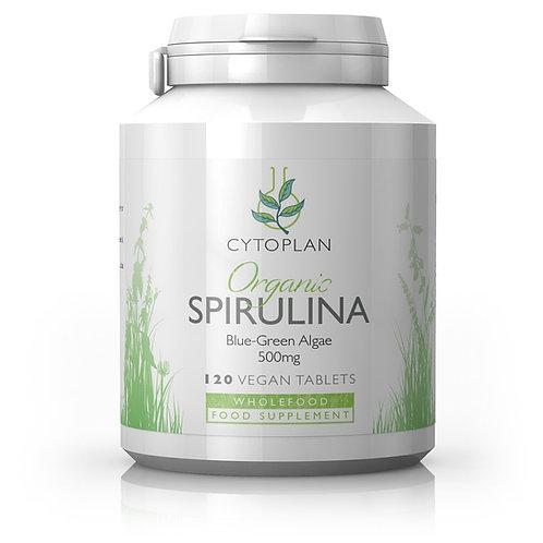 Organic Spirulina - Blue Green Algae 500mg