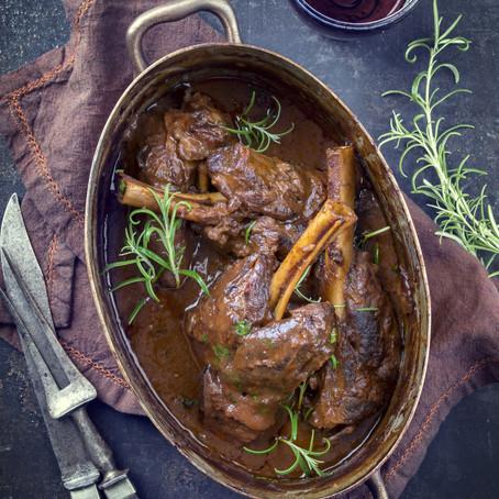 Lamb Shanks - Slow Cooker #LCHF #Keto