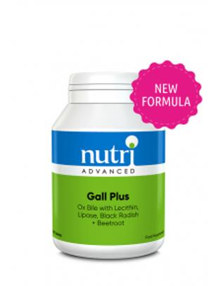 NutriAdvanced Gall Plus 90 Capsules