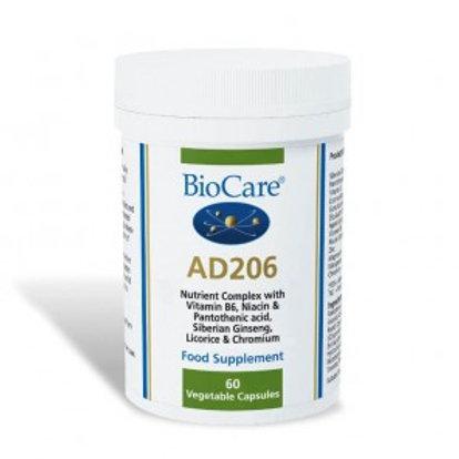 BioCare AD206 Adrenal Support - 60 Capsules