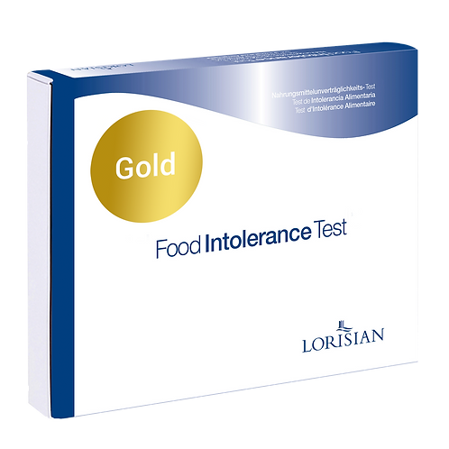 Gold Food Intolerance Test and Online Consultation