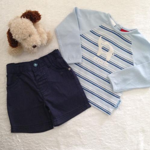 2b7381f27 Mix   Match 2 Piece Set - Esprit T-shirt   Sprout Shorts - Baby ...