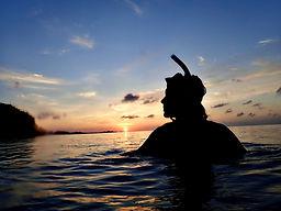 sunset snorkeling ishigaki