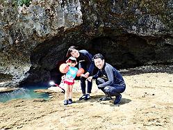 青の洞窟の入り口 石垣島
