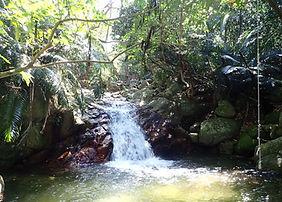 natural waterfall in Ishigaki