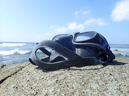 フリーダイビング マスク 石垣島