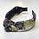 Thumbnail: Floral Velvet Knotted Headband
