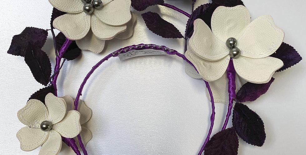 Purple Floral Halo