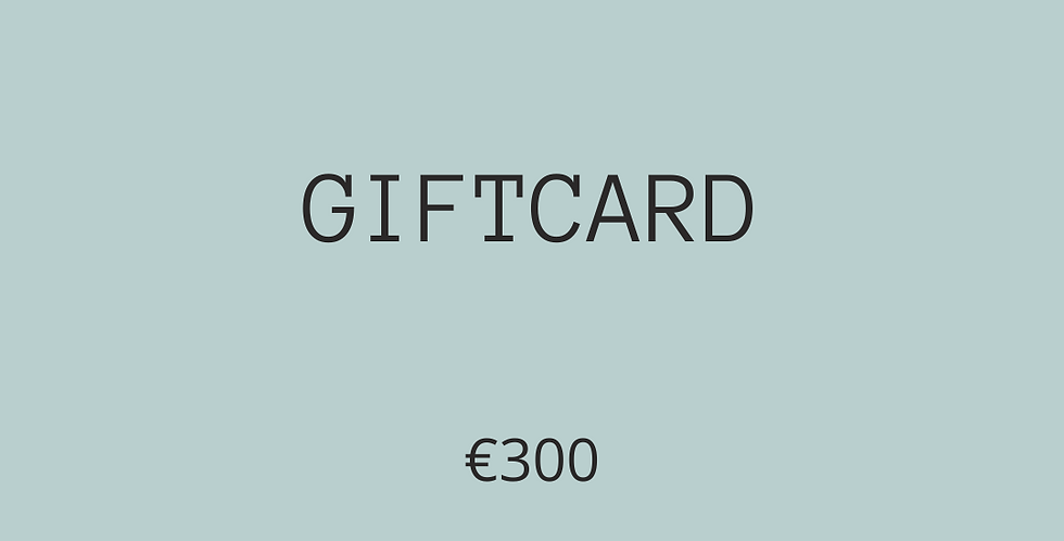 GIFTCARD €300