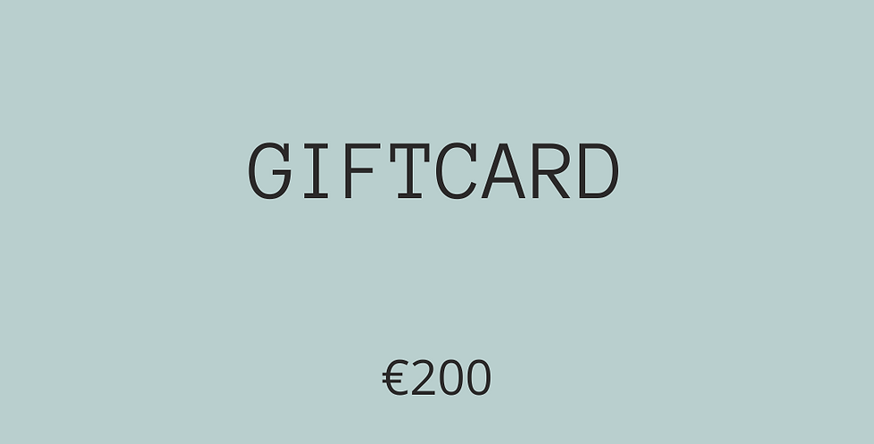 GIFTCARD €200
