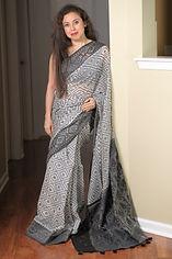 Elegant Cotton Jamdani Saris
