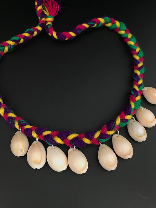 Afghan Small Shell Necklace