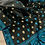 Thumbnail: Pure Assam Silk Saree in Black, Blue and Beige
