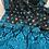 Assam Silk Saree in Black, Blue and Beige