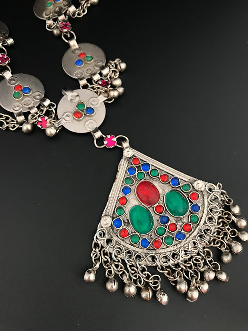 Afghan Tribal Big Necklace