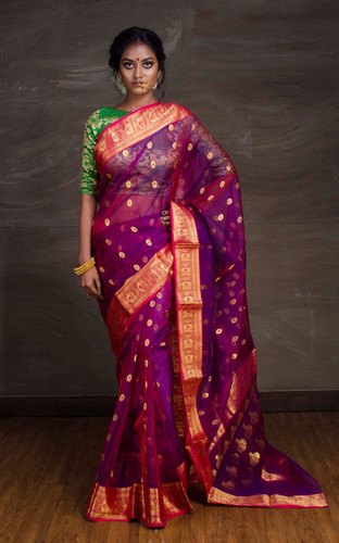 6353030054620e Chanderi Sarees Online. Find Best Chanderi Silk Sarees | Bengal Looms