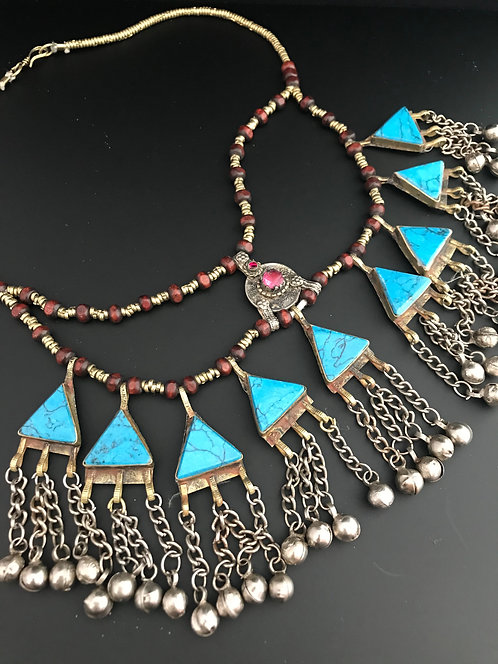 Afghan Handmade Tribal Necklace