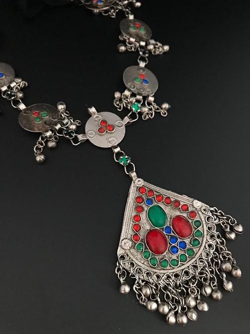 Afghan Long Kuchi Necklace
