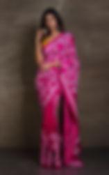 Kantha Stitch Saris