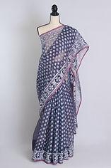 Elegant Cotton Jamdani Saris From Bengal