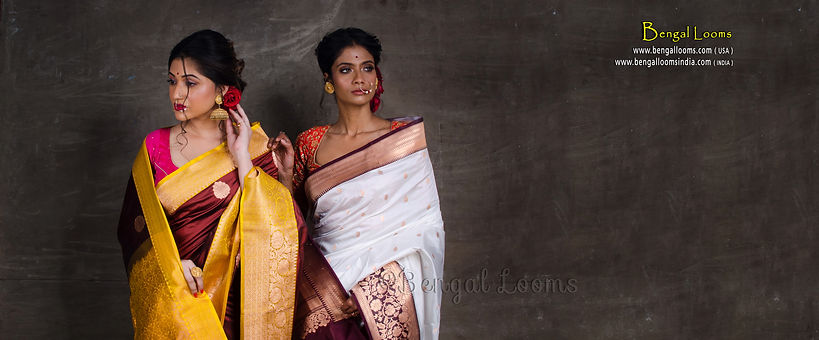 Latest Collection Of Sarees & Readymade Blouses From Bengal Looms