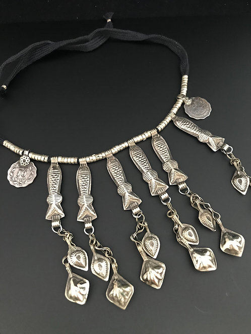 Afghan Fish Necklace