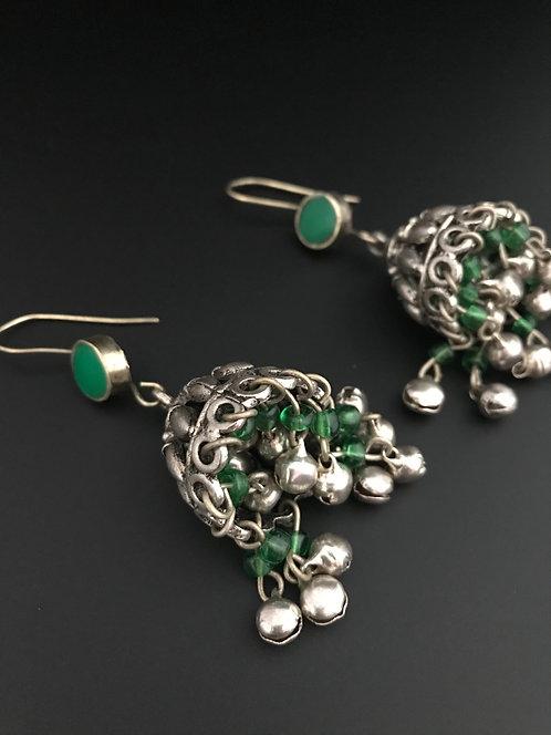 Afghan Jhumka Earrings