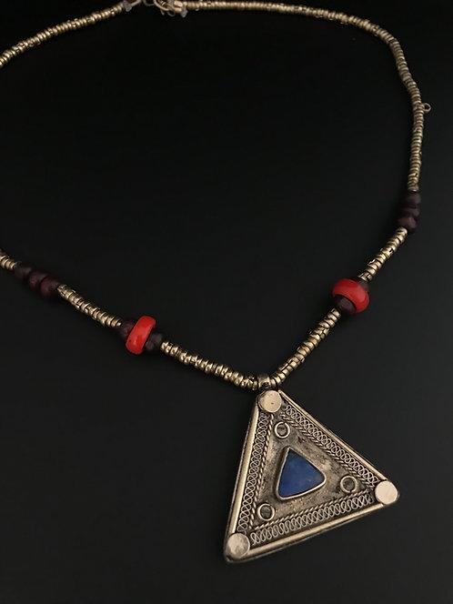 Afghan Tribal Triangle Pendant